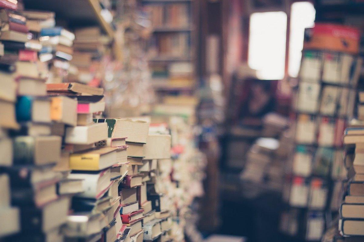 Librería digital con libros recomendados por famosos