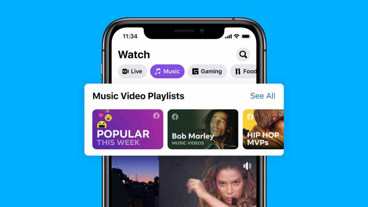 Llegan los vídeos musicales oficiales a Facebook