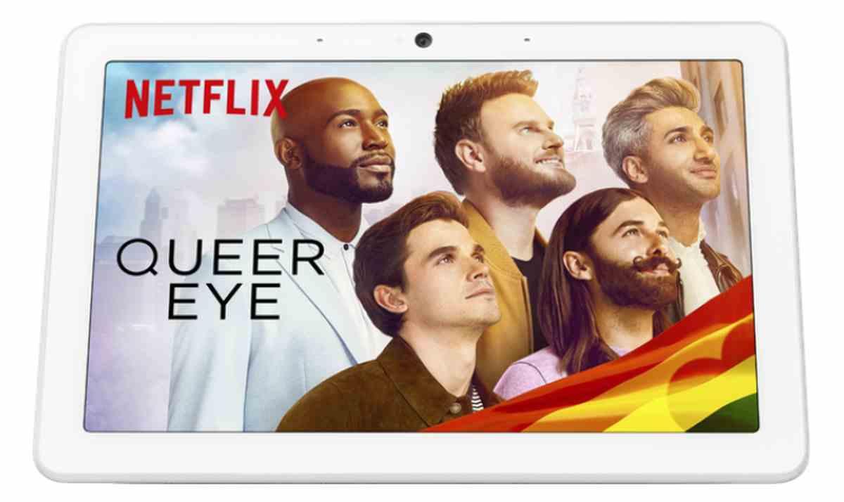 Netflix en un Nest Hub