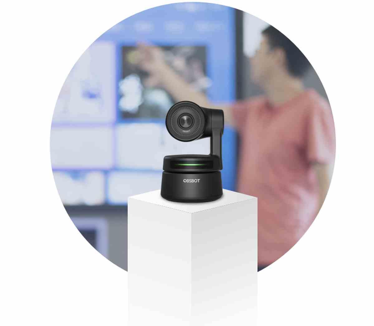 Una cámara web que te permite libertad de movimientos, y que triunfa en Indiegogo