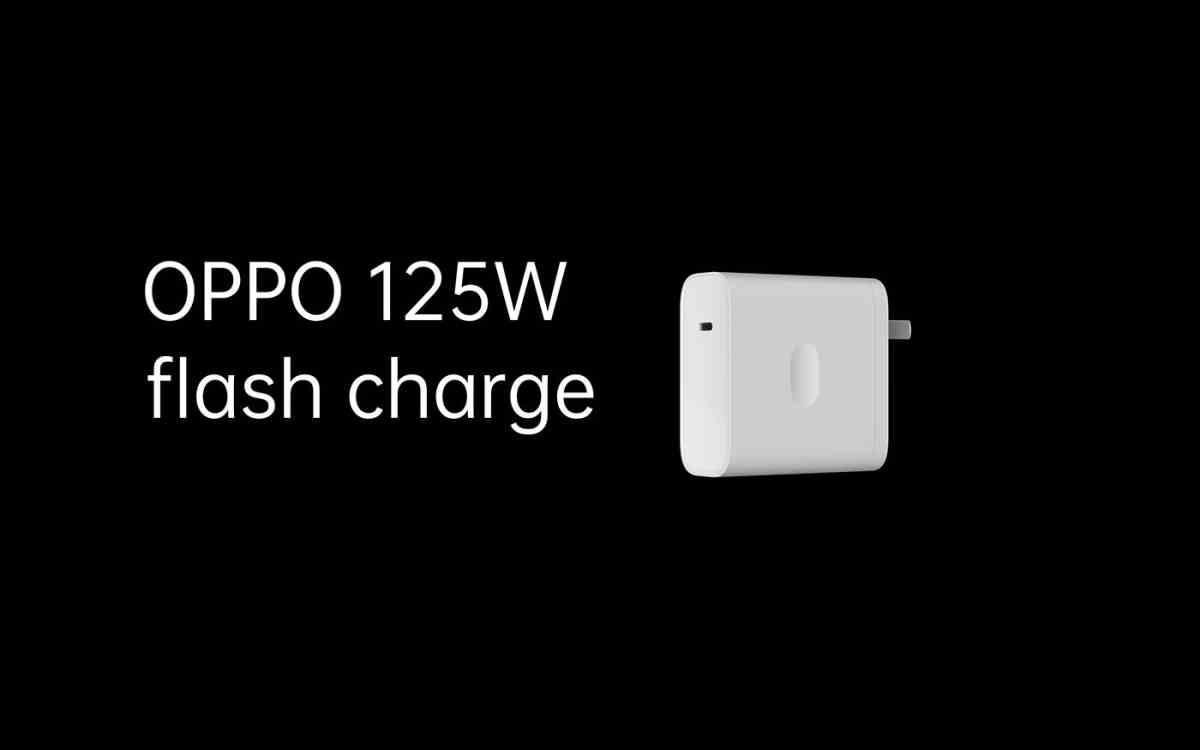 Carga rápida 125W de Oppo