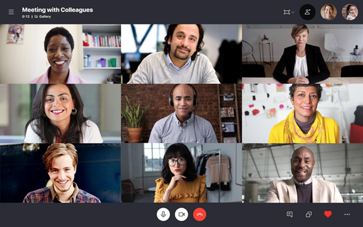 Skype suma nuevas funciones para personalizar la vista de las videollamadas