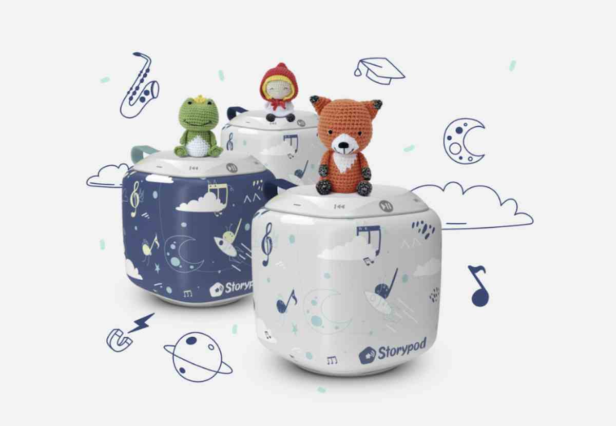 Storypod, un dispositivo de entretenimiento sin pantalla para niños que triunfa en Kickstarter