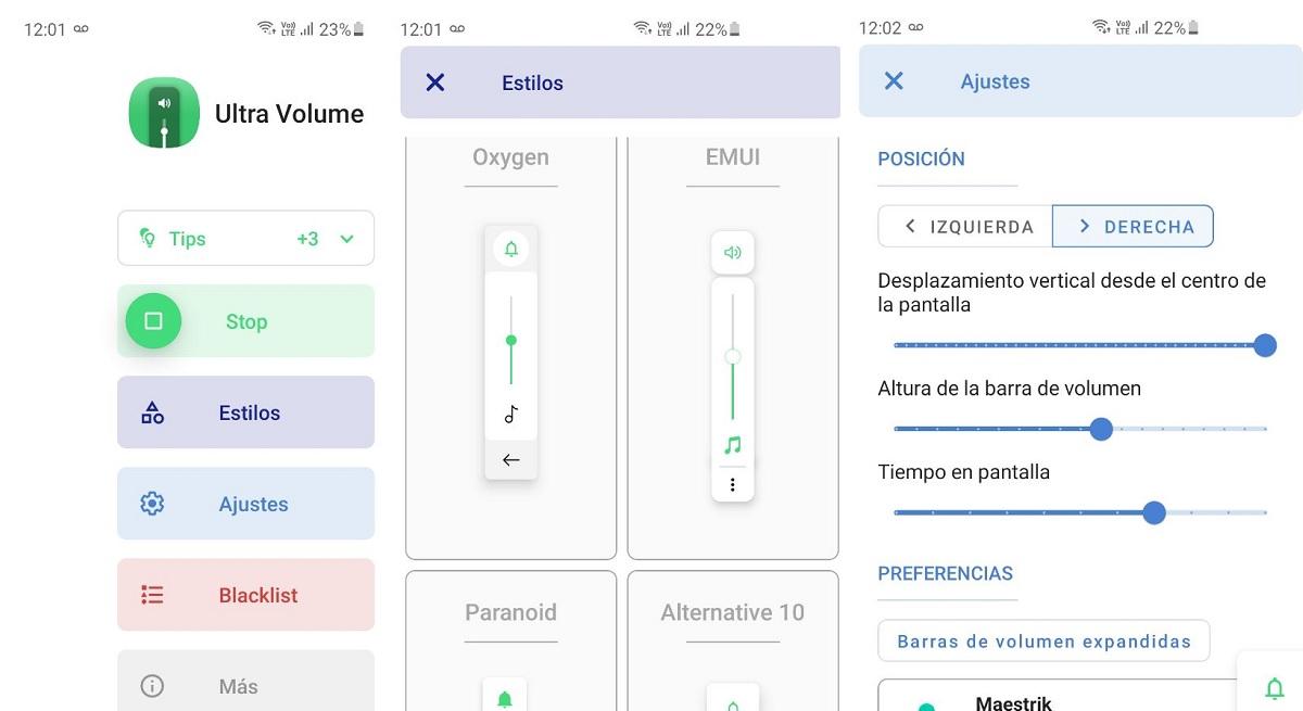 Ultra Volume, una app para personalizar controles de volumen de la mejor manera