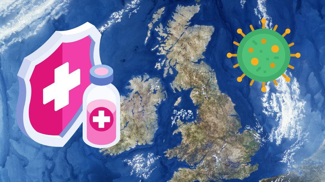 Millones de vacunas del coronavirus llegan al Reino Unido, con Bill Gates financiando