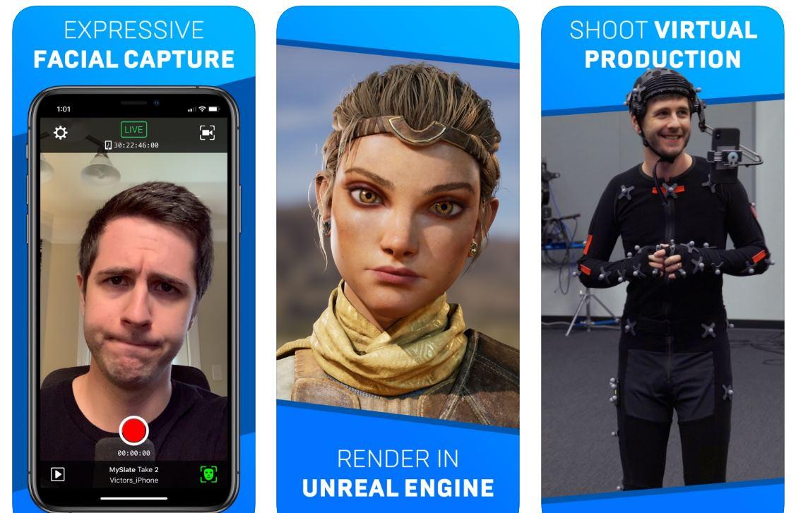 Una app para capturar expresiones faciales y animar un personaje