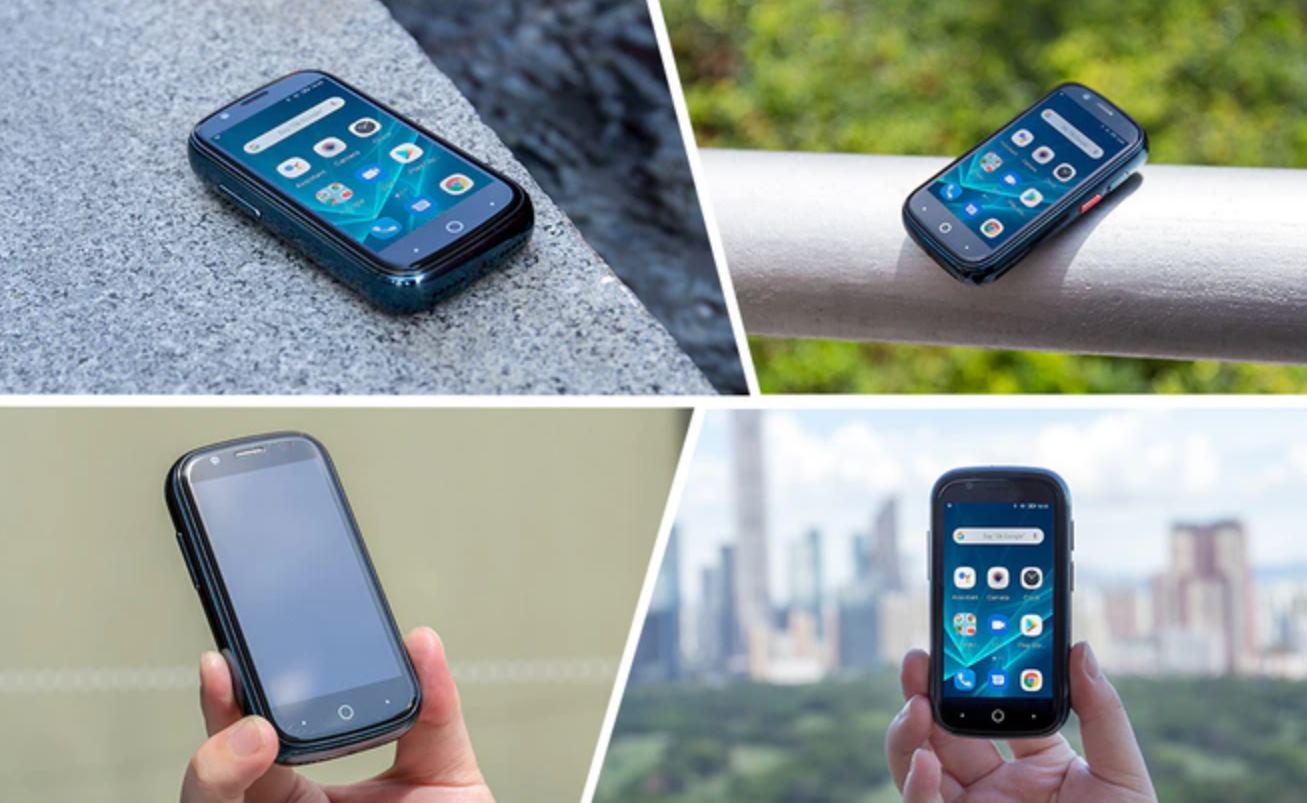 El smartphone con Android 10 más pequeño del mundo