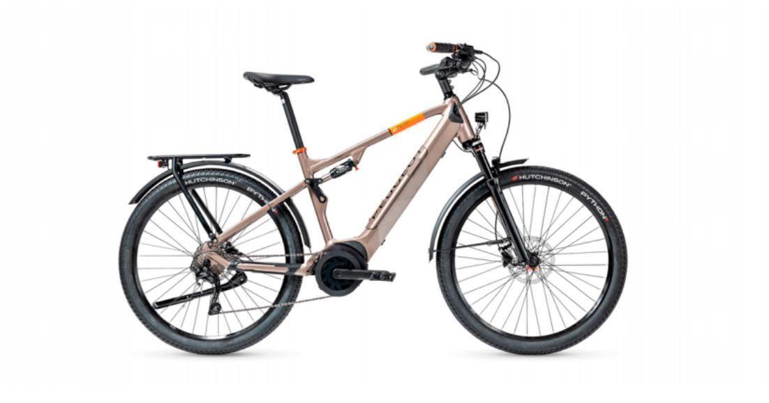 Peugeot lanza nuevas bicicletas eléctricas con 110 km de autonomía