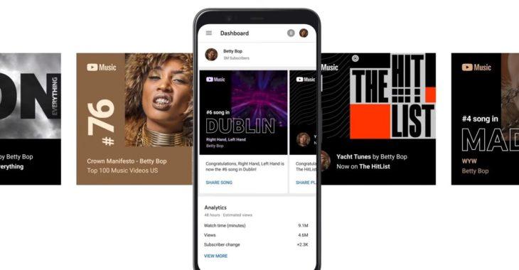 Youtube ofrece una nueva herramienta para artistas del mundo de la música