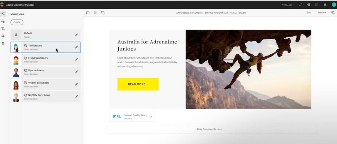 Adobe presenta herramienta que muestra el mismo contenido web de forma diferente a cada visitante
