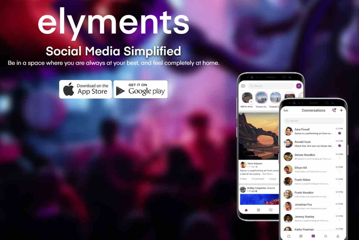 Elyments, la alternativa a Facebook y WhatsApp en una sola aplicación