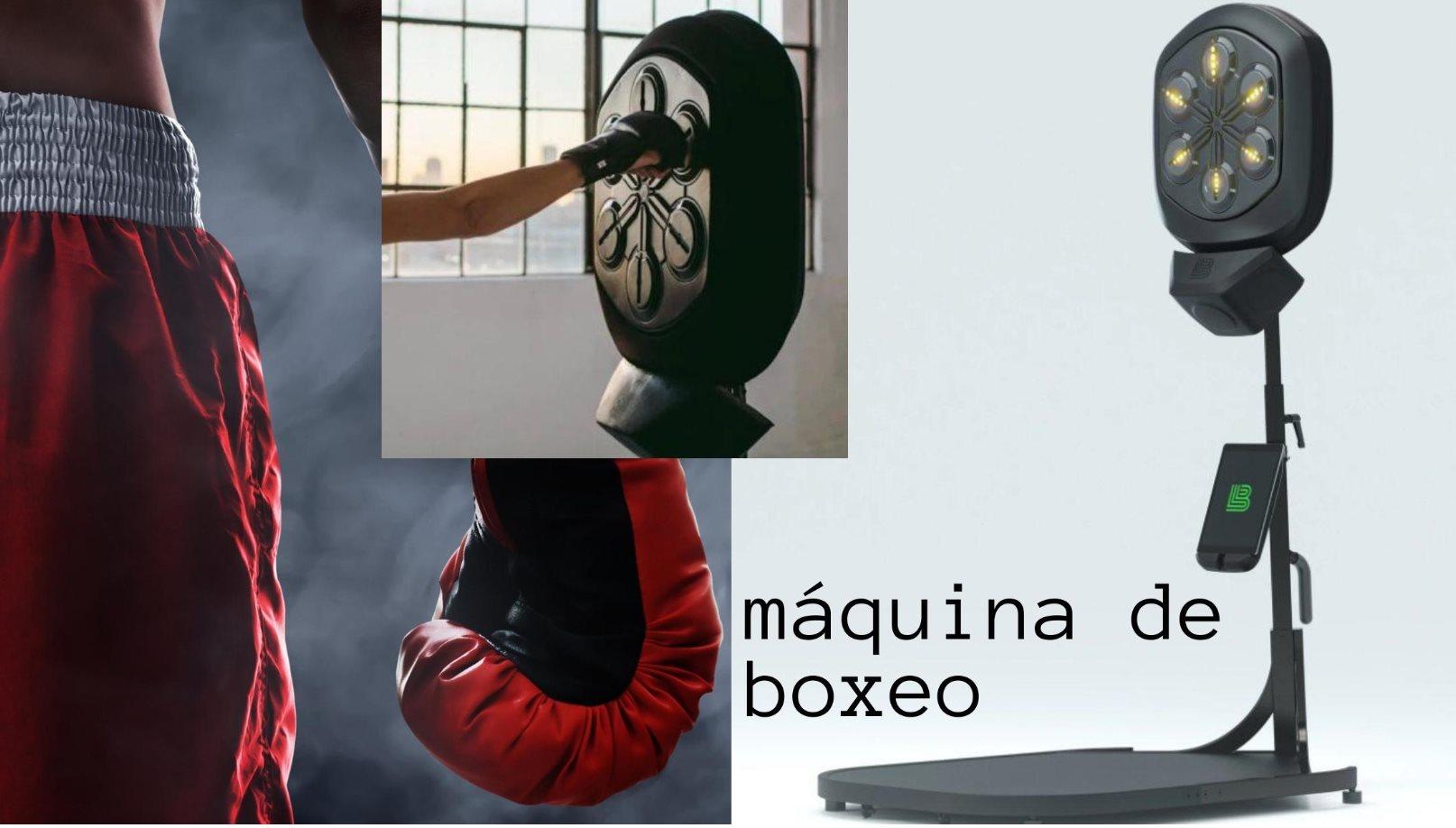 Tecnología, música y capacitación en una máquina de boxeo