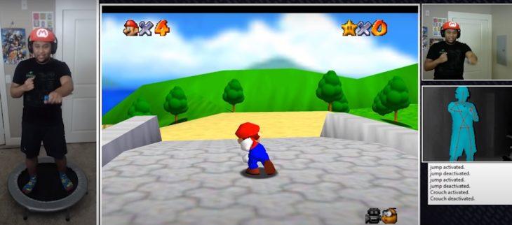mod de Super Mario 64 para hacer ejercicio