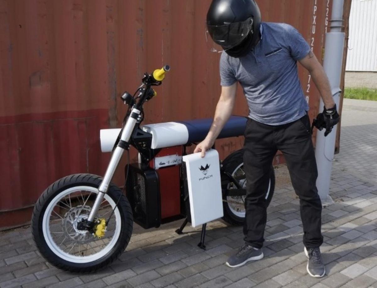motocicleta electrica punch moto