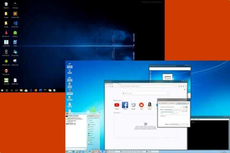 personalziaciion escritorio fenix os linux