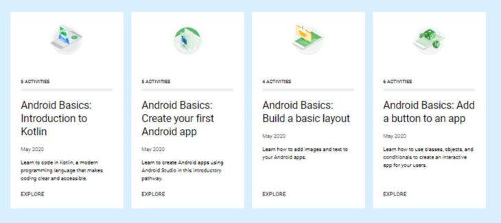 programar apps Android