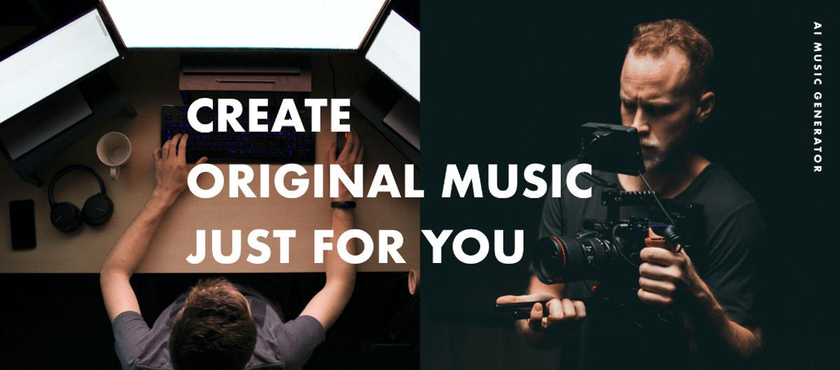 Música libre de derechos para usar en vídeos, generada por inteligencia artificial