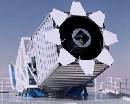 telescopio SDSS usado para realizar el mapa cosmologico