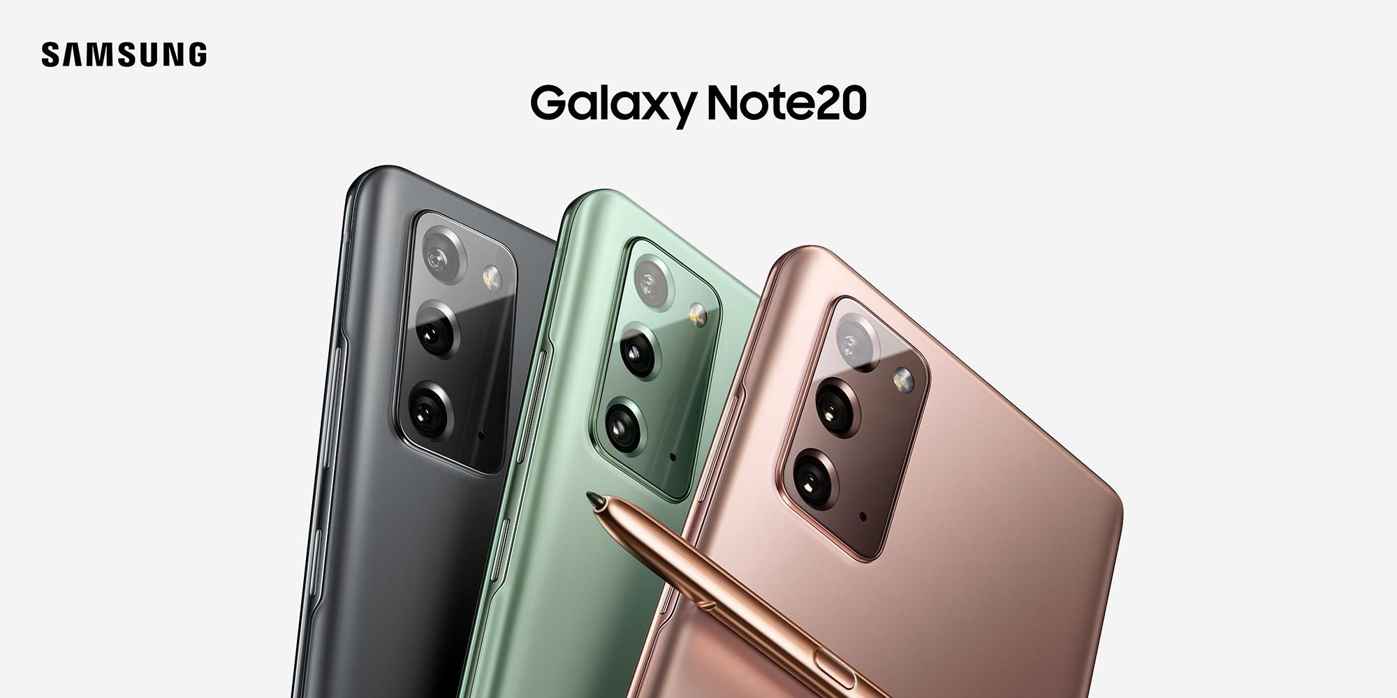 Samsung presentó los nuevos Galaxy Note 20 y Galaxy Tab S7