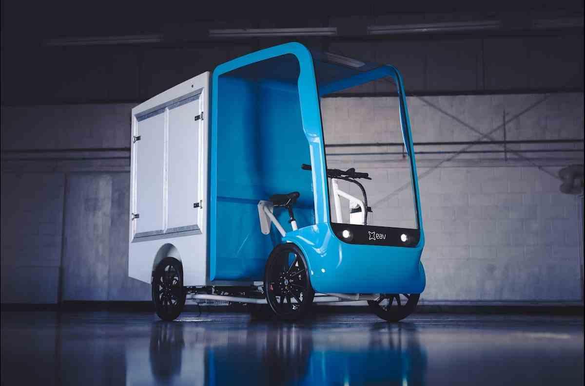 Llegan los 2Cubed, vehículos de carga basados en bicicletas eléctricas