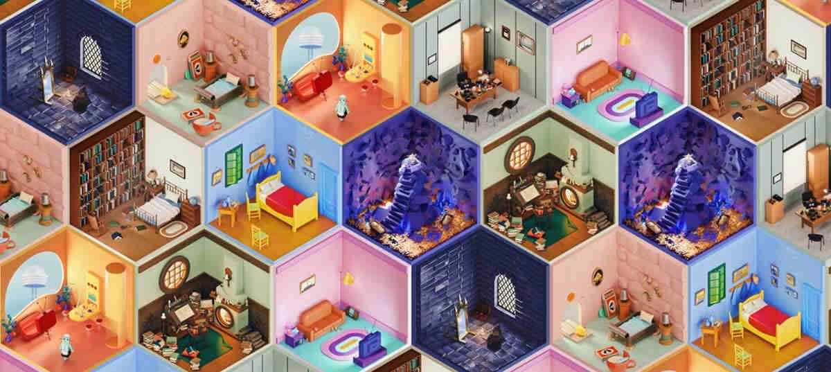 3D Rooms Project, ilustraciones 3D para usar como fondos en Zoom