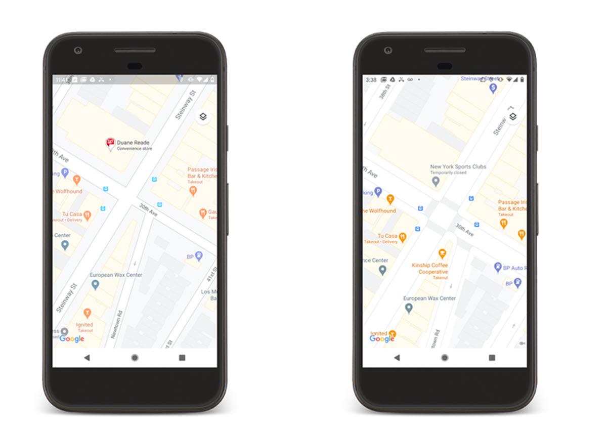 Google Maps trae mapas más detallados y coloridos