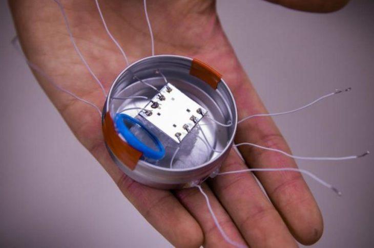 microbots fabricados con inspiracion en el origami