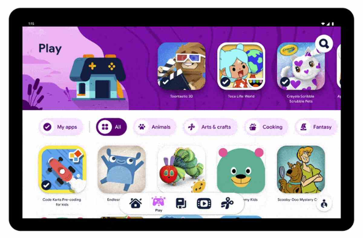 Así es Kids Space, la nueva experiencia para niños en tabletas Android