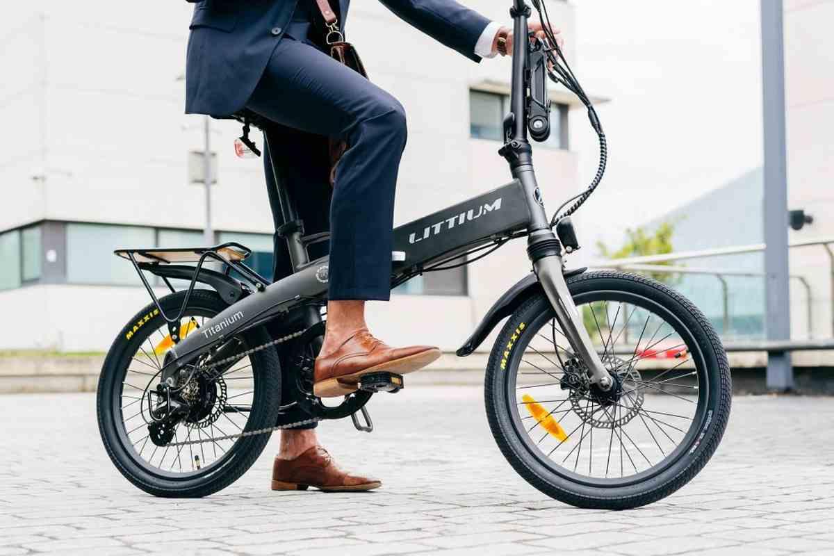 Así es Ibiza Titanium, la nueva bicicleta eléctrica de Littium