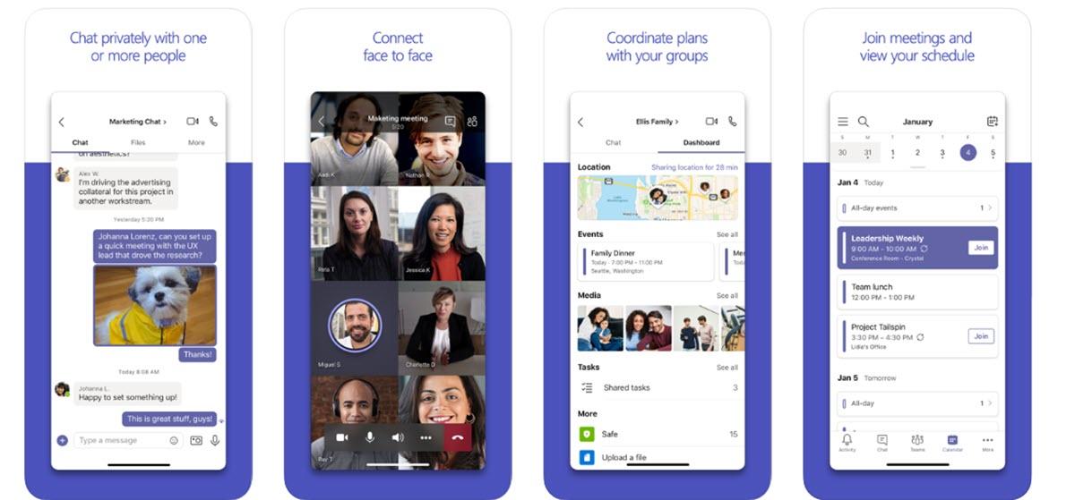 Microsoft Teams suma más novedades para las videollamadas en iOS y Android