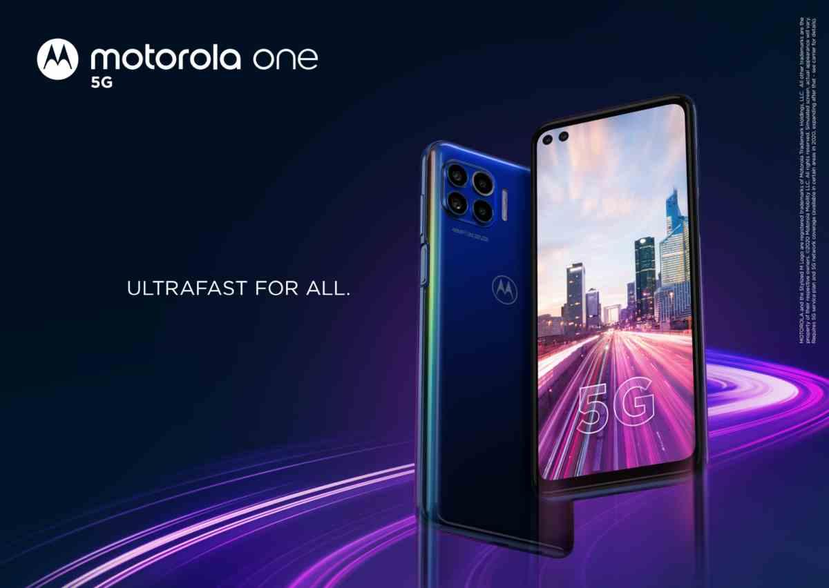 Nuevo Motorola One 5G, con pantalla de 90Hz, flash de anillo y más