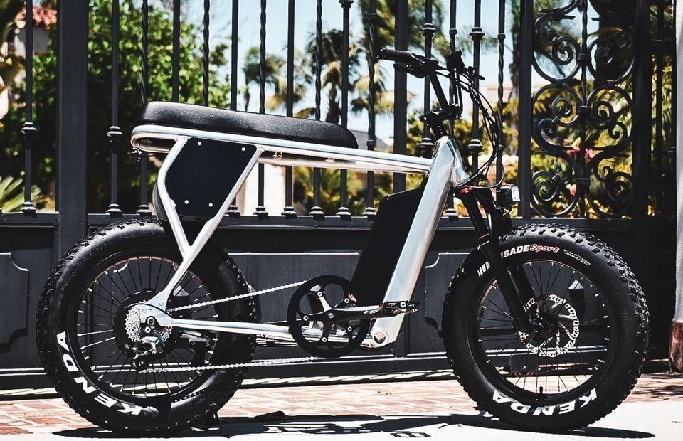 Scrambler Electric Adventure Bike