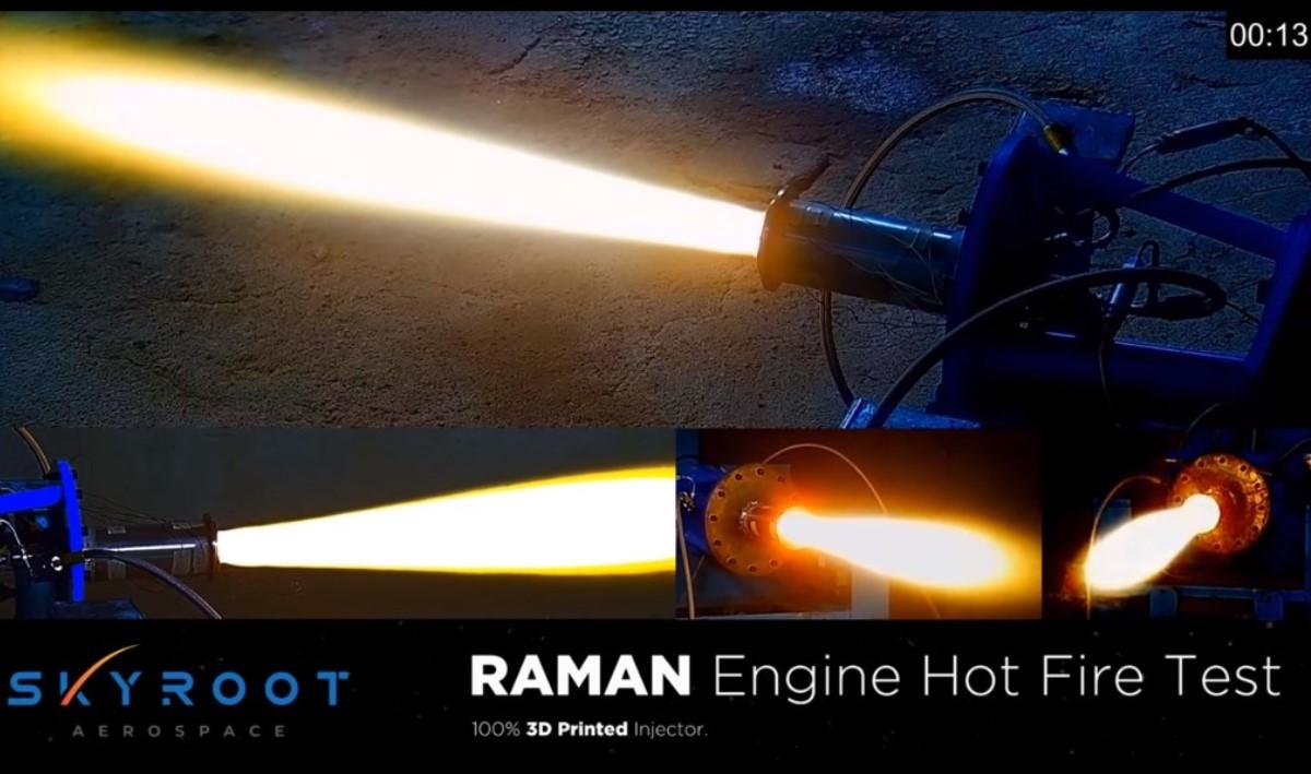 Skyroot, empresa espacial privada de India supera la prueba de fuego de los motores de la etapa superior