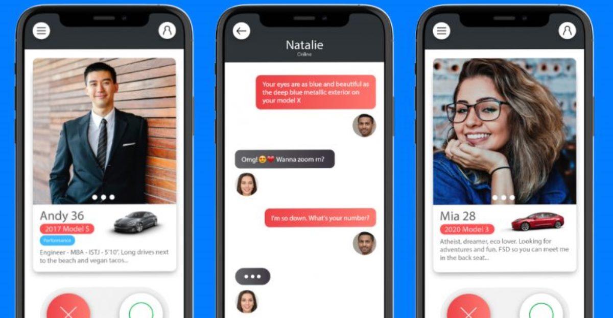 Tesla Dating, la app de citas exclusiva para usuarios de vehículos Tesla