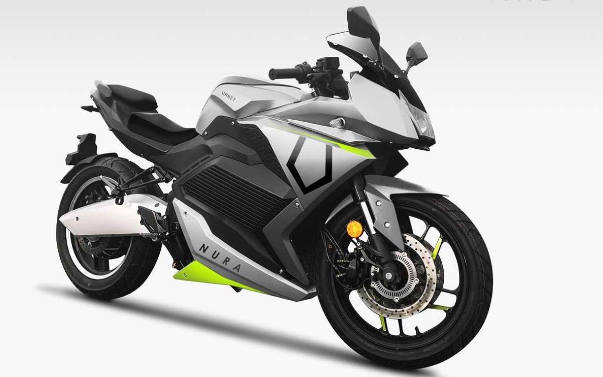 Urbet Nura, motocicleta eléctrica de fabricación española con 190 kilómetros de autonomía