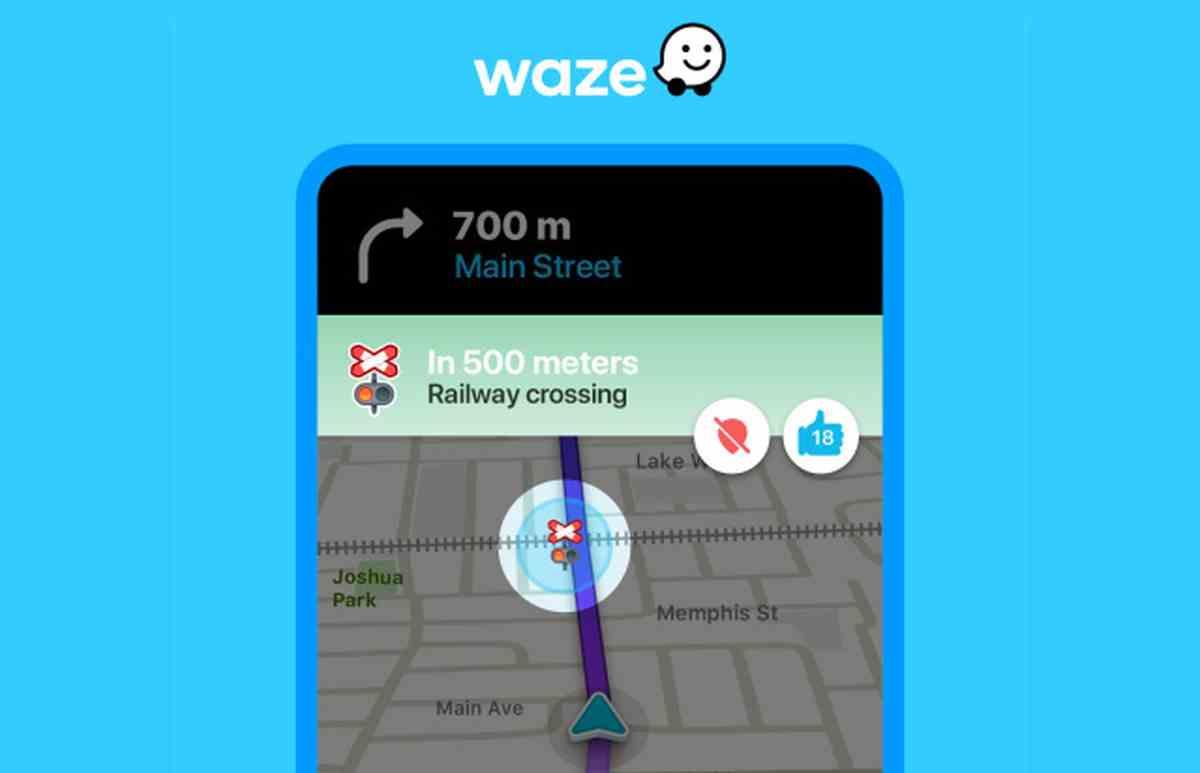 Waze comenzará a avisar de la cercanía de cruces ferroviarios