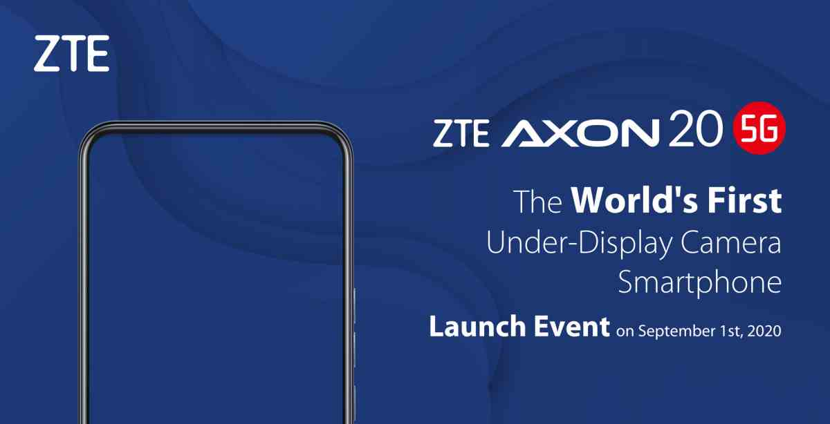 ZTE lanzará el primer móvil del mercado con la cámara selfie oculta bajo la pantalla