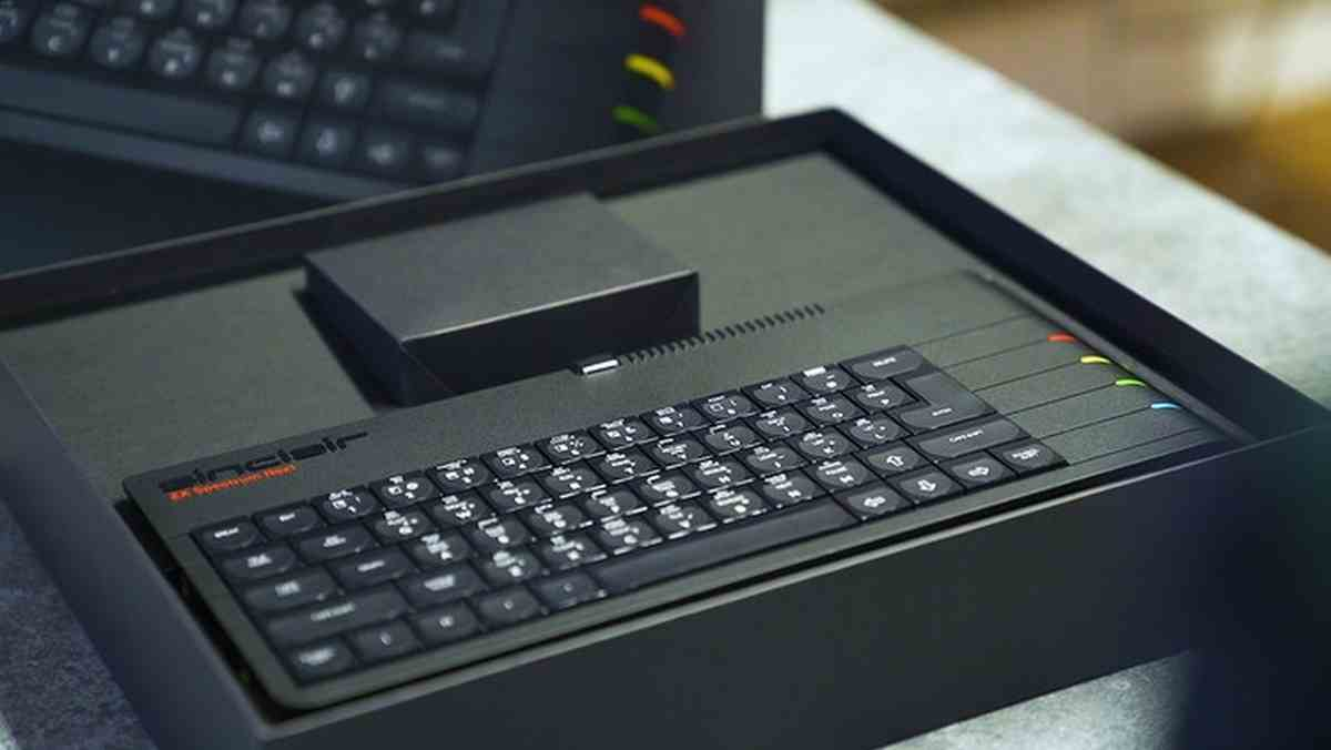 Llega una versión mejorada del ZX Spectrum Next a Kickstarter