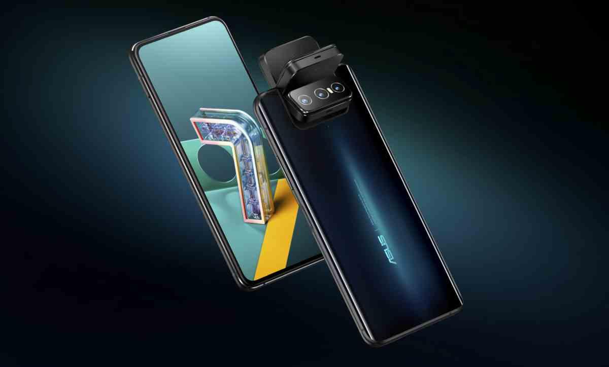Así es la nueva serie Zenfone 7 de Asus, móviles con módulo giratorio de tres cámaras