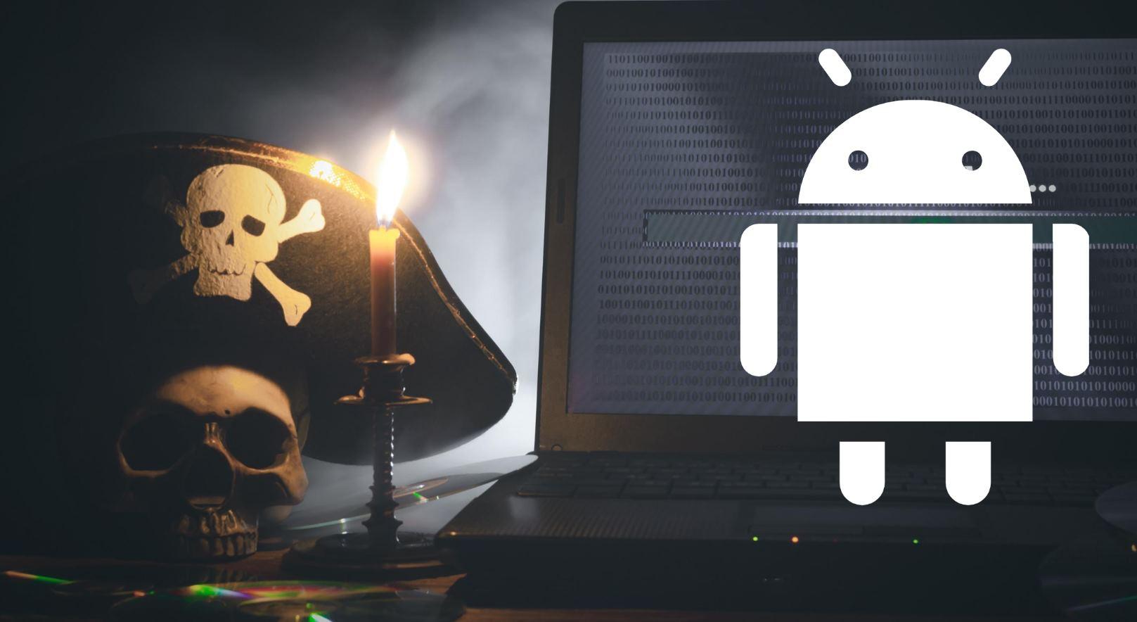 piratería android