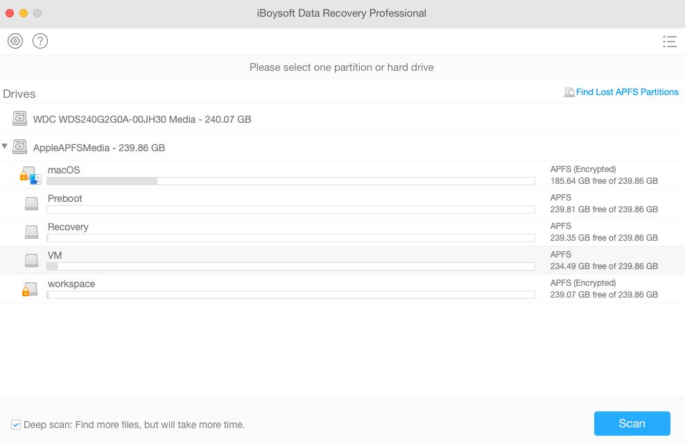 iBoysoft Data Recovery para Mac