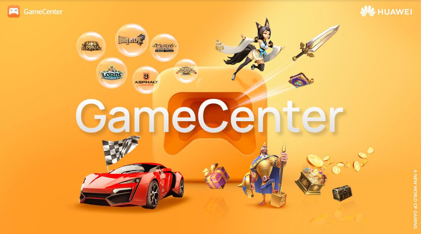Huawei presenta su plataforma de videojuegos GameCenter