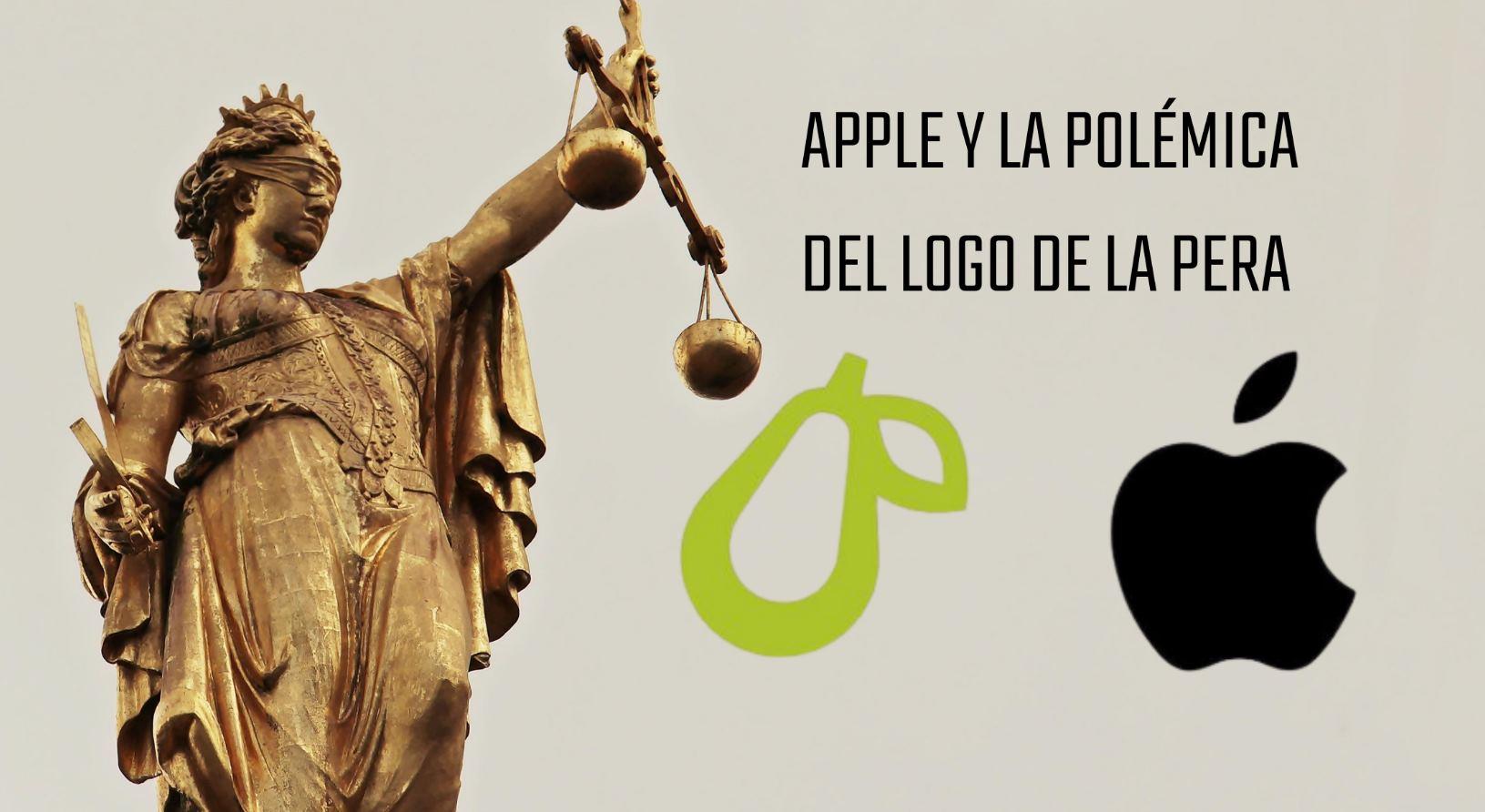 Apple solicita retirada de logo de pera de una app por parecerse a su manzana