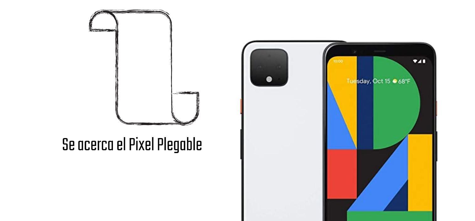 Google prepara un móvil plegable, según informes filtrados