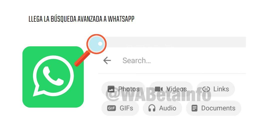 La búsqueda avanzada de WhatsApp ya empieza a verse entre algunos usuarios
