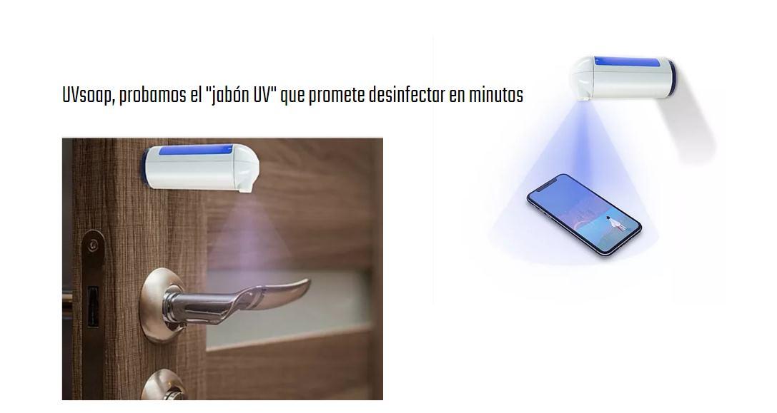 UVsoap, el jabón Ultravioleta que limpia superficies en varios minutos