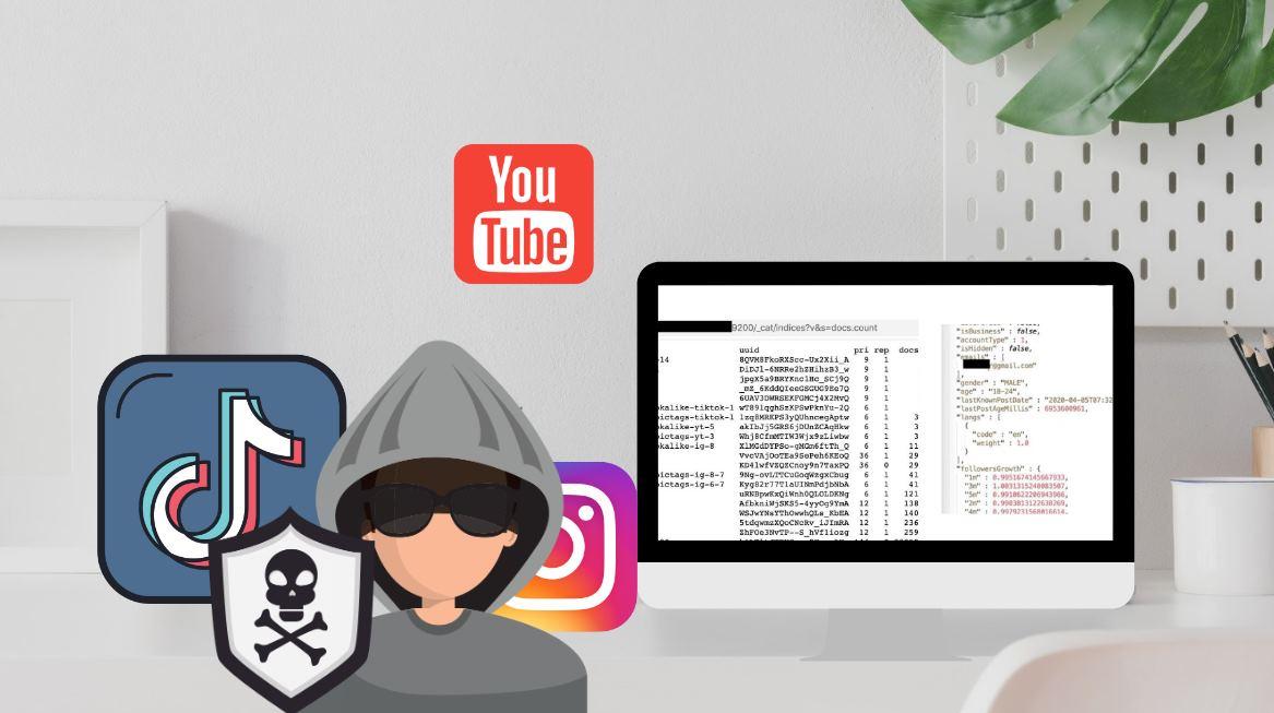 Sobre la violación de datos de TikTok, Instagram y YouTube