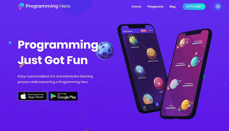 Programming Hero, una app para aprender a programar mientras creamos un juego