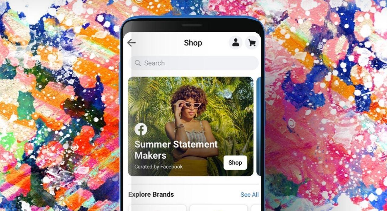 Facebook empieza a mostrar su pestaña de compras, Facebook Shop