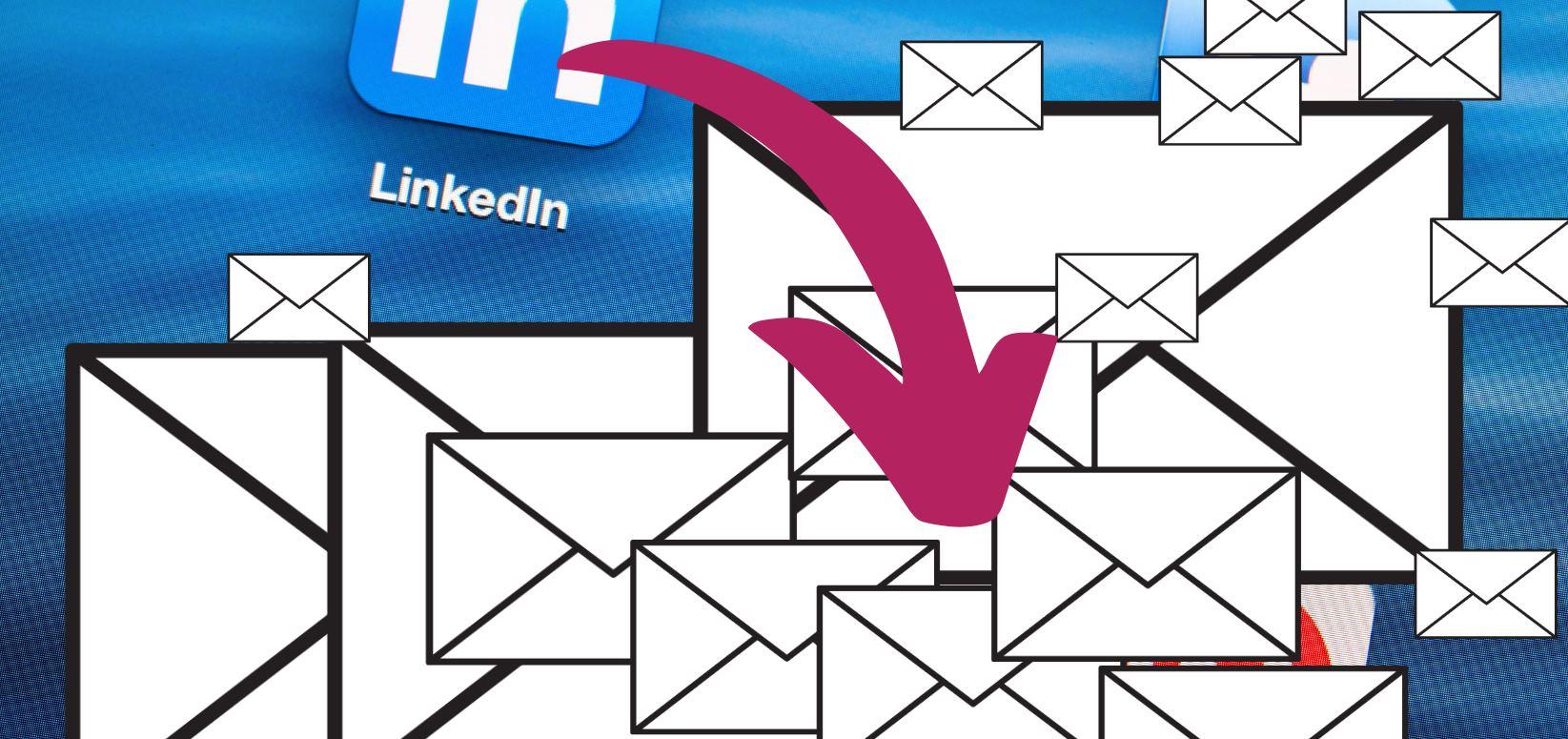 Siguen apareciendo opciones para extraer emails de Linkedin